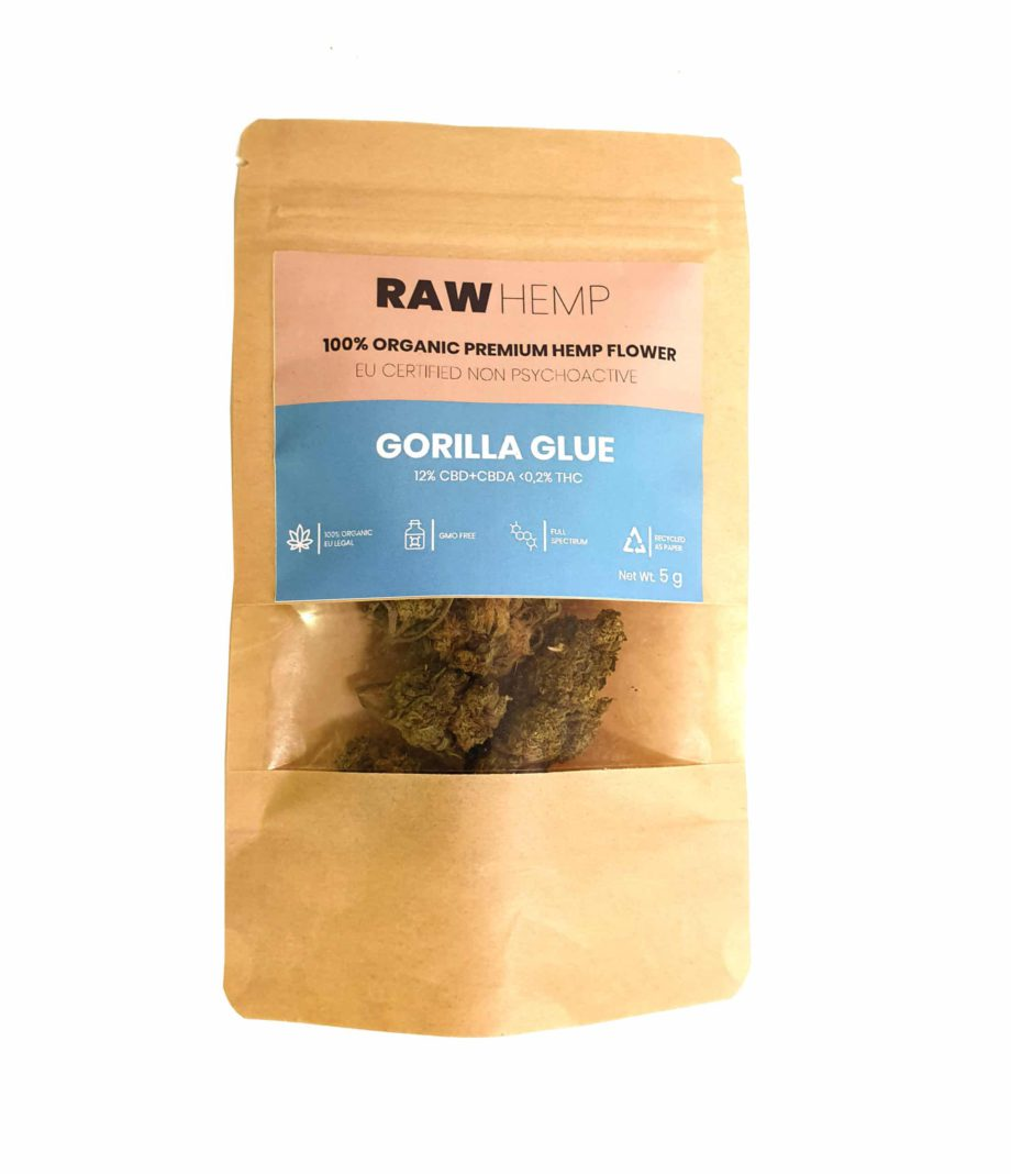 Gorilla Glue CBD i påse