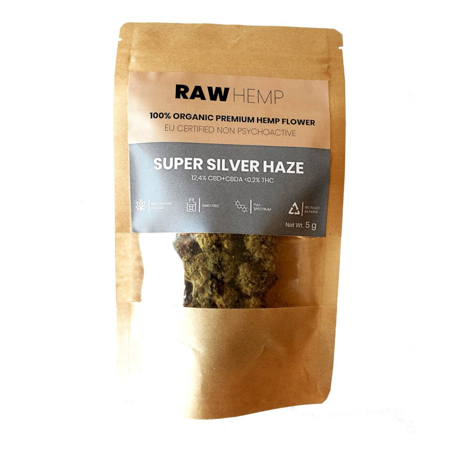 Super Silver Haze CBD i påse